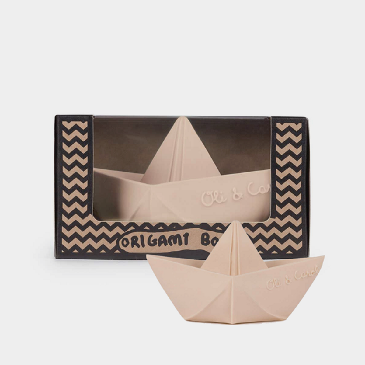 Origami Båt Sart Rosa