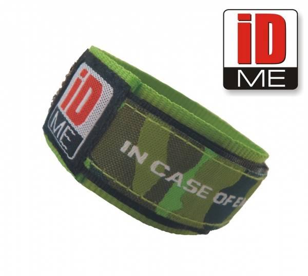 Bilde av iDME ID-armbånd grønn camo